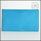 Hermes Aztec and Peacock Chevre Leather Vision Agenda
