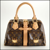 Louis Vuitton Monogram Canvas Manhattan GM Handbag