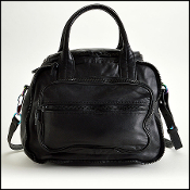 Alexander Wang Black Eugene with Iridescent Hardware Crossbody