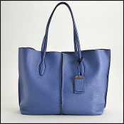 Tod's Blue Joy Shadow Large Shopping Tote