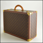 Louis Vuitton LV Monogram Canvas Bisten 50cm Hardsided Suitcase
