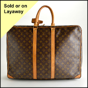 Louis Vuitton LV Monogram Sirius Boston 55 Travel Bag
