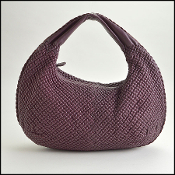 Bottega Veneta Purple Large Opera Mini Ponza Bag
