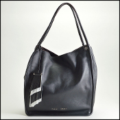 Proenza Schouler Black Soft Calf Medium Tote
