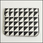 Proenza Schouler Black And White Card Holder