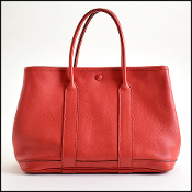 Hermes Rouge Vermillion TPM Garden Party