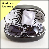 Roberto Cavalli White Turtoise Lohifushi Cat Eye Sunglasses