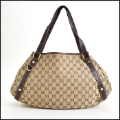 Gucci GG Monogram Abbey Hobo Bag