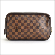 Louis Vuitton Damier Ebene Trousse Toilette 23 Travel Case