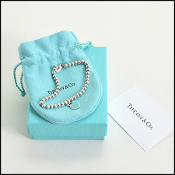 Tiffany & Co. Return to Tiffany Mini Heart Charm Bracelet