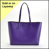 Tom Ford Iris Saffiano Leather T Tote