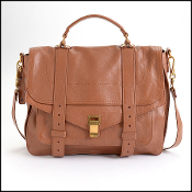 Proenza Schouler Saddle Brown Lux Leather Large PS1 Bag