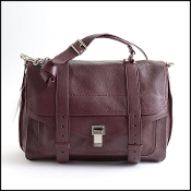 Proenza Schouler Oxblood Lux Leather Large PS1 Bag