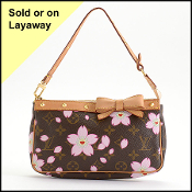 Louis Vuitton 2003 LE Cherry Blossom Small Bag