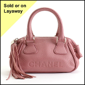 Chanel 2003 Pink Mini Lax Handbag