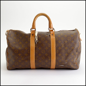 Louis Vuitton Vintage French Co. Keepall 45 Bag