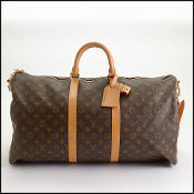 Louis Vuitton LV Monogram Keepall Bandouliere 55