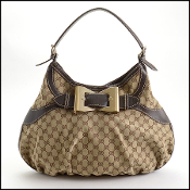 Gucci GG Monogram Canvas Queen Hobo Bag