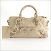 Balenciaga 2011 Praline Beige Giant Part Time Bag