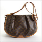 Louis Vuitton LV Monogram Menilmontant Messenger Crossbody Bag