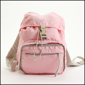 Prada Pink Nylon Small Backpack
