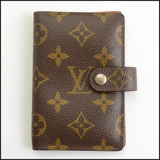 Louis Vuitton Vintage LV Monogram Agenda Cover PM Card Holder