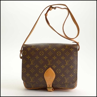 Louis Vuitton LV Monogram Cartouchiere GM Bag